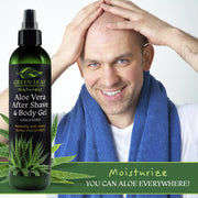 Aloe Vera After Shave & Body Gel - Unscented