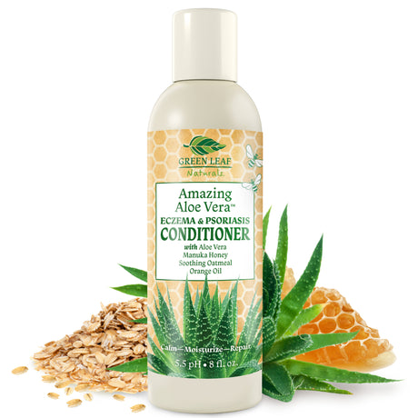 Amazing Aloe Vera Eczema Psoriasis Conditioner with Manuka Honey