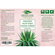 Amazing Aloe Vera Facial Toner for Women