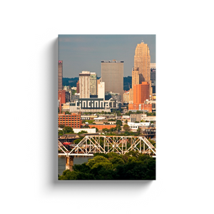 Queen City Skyline - photodecor.net