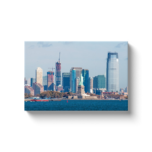 Lady Liberty and Jersey City - photodecor.net
