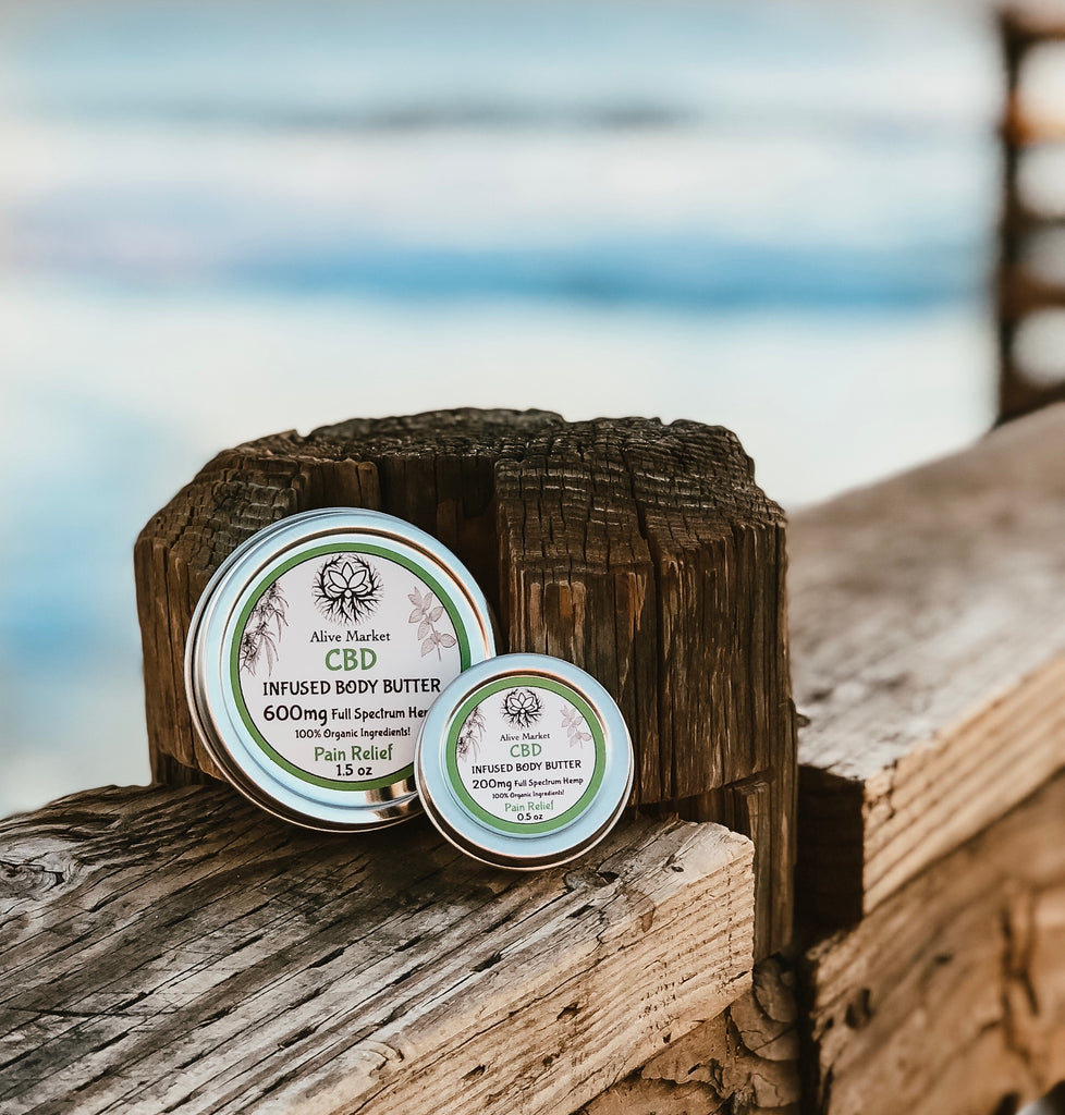 CBD Body Butter - For More Than Just Dry Skin!