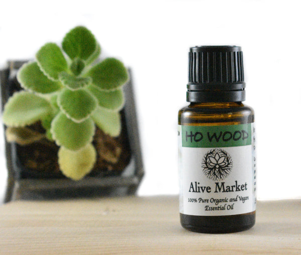 NEW! Ho Wood Organic Essential Oil