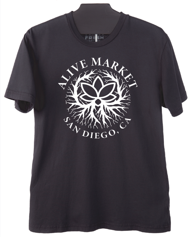 Alive Market - San Diego T- Shirt - Mens (Coming Soon!!!)