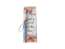 """God is Good"" Bookmark and Pen set"