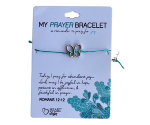 Butterfly Prayer Bracelet