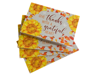 """Give Thanks"" Notecards Two Pack"
