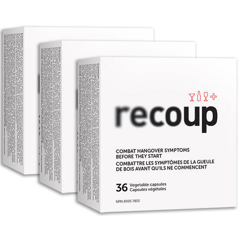 Recoup - 3 box multipack