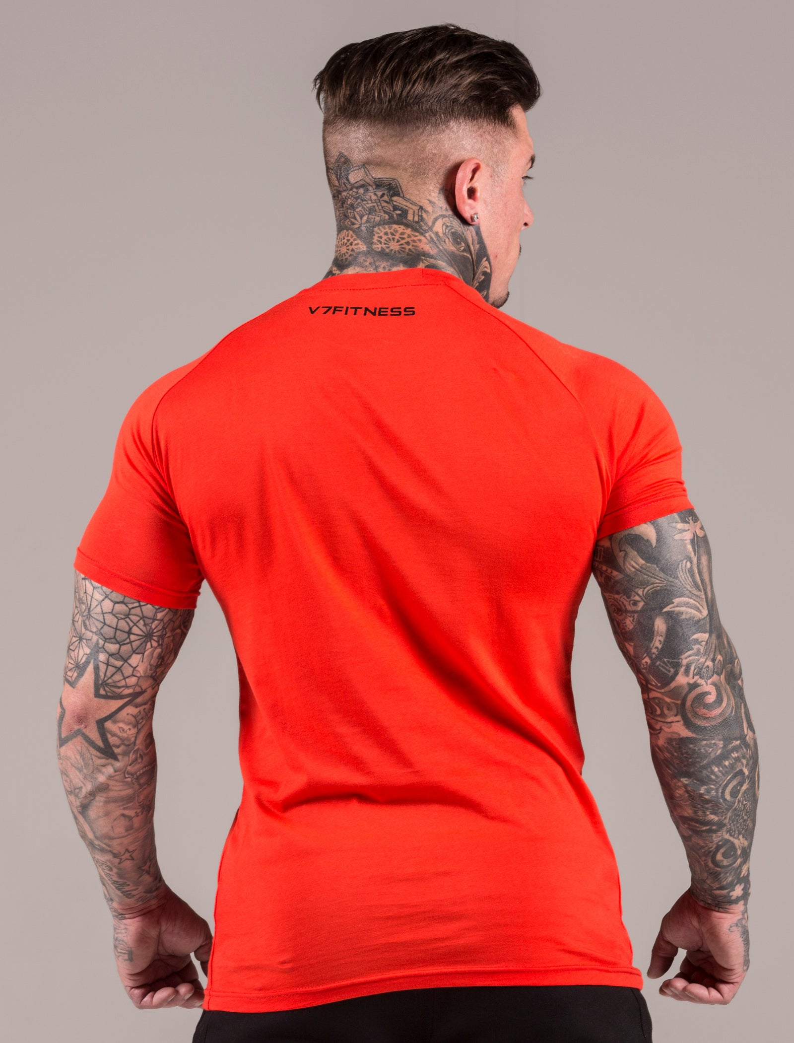 Coral Icon Muscle Fit T-Shirt