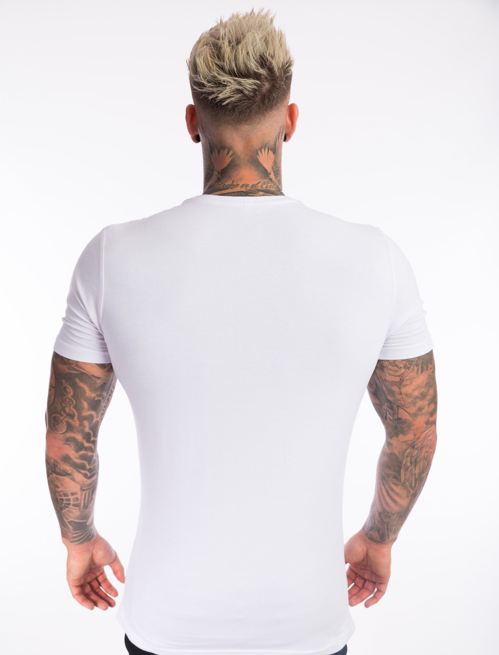 Pure White 'TEAMV7' T-Shirt