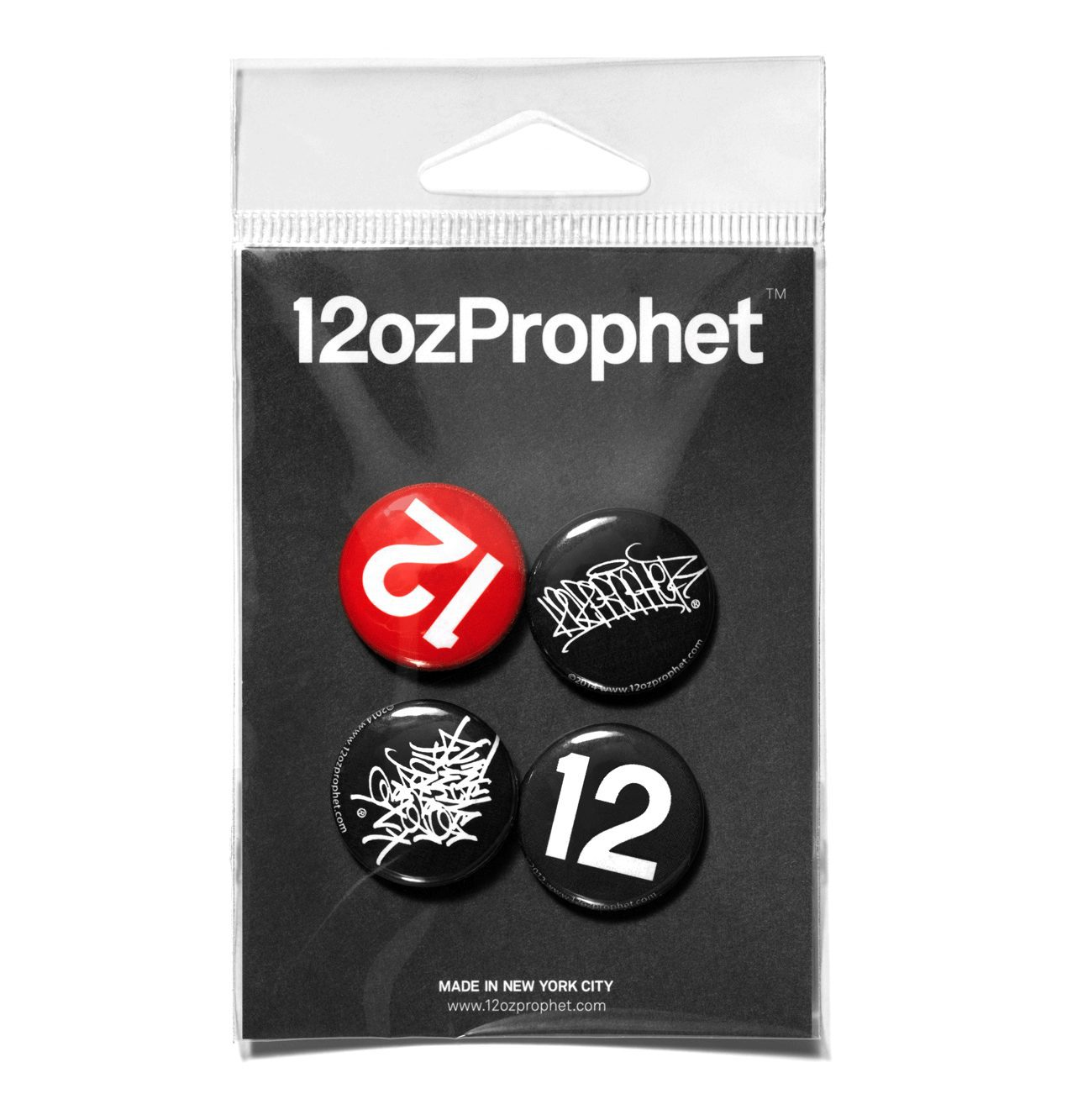 12ozProphet Button Pack - Series 1