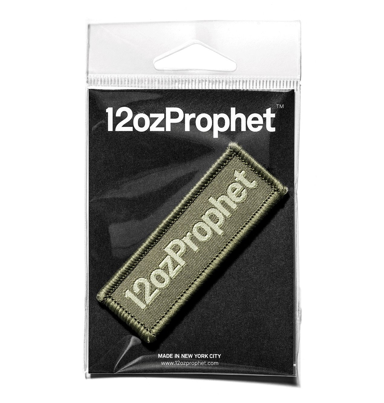 12ozProphet Logo Patch