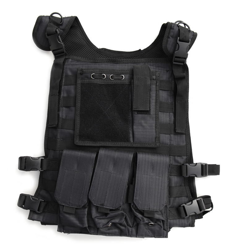 body armor plate carrier tactical black