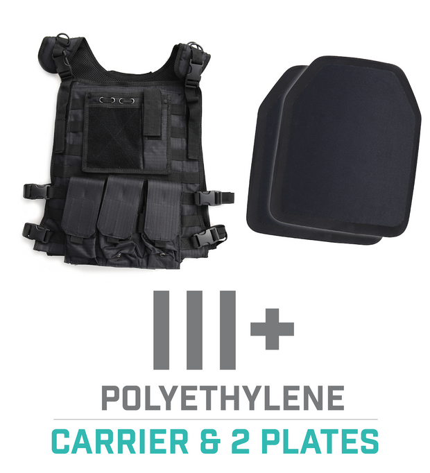 Tactical Carrier Vest - Black