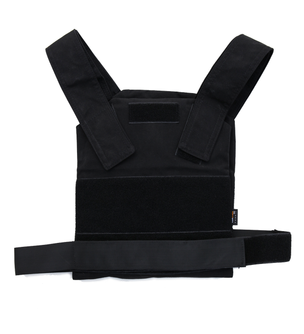body armor plate carrier concealable black