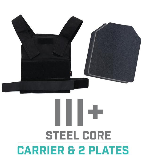 Concealable Carrier Vest - Black