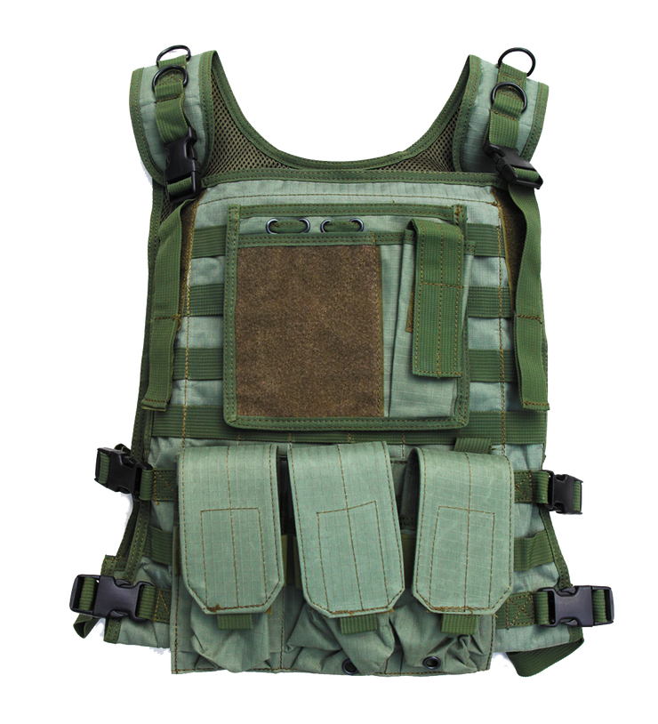 body armor plate carrier tactical green