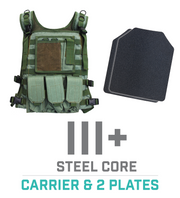 Tactical Carrier Vest - Green