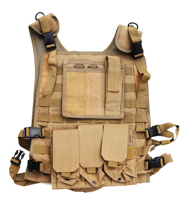 body armor plate carrier tactical tan