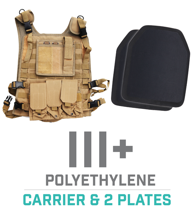 Tactical Carrier Vest - Tan