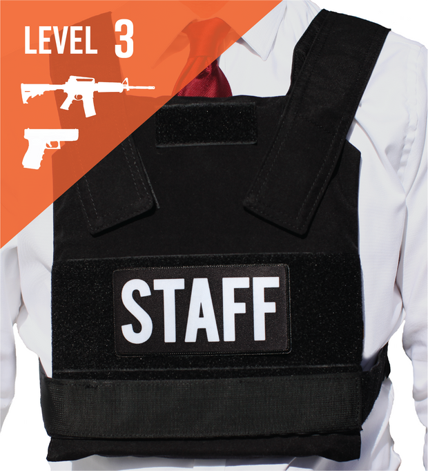 LEVEL III BULLETPROOF VEST