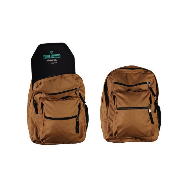 Bulletproof Backpack Insert 10x12 LEVEL III+