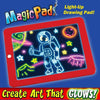 Image of Magic Pad Light Up LED Board Learning Tablet