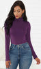 Image of Womens Playa Turtle Neck Long Sleeve Bodysuit