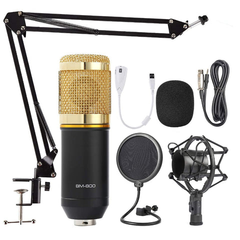 USB Microphone Gaming Streaming Podcasting Kit