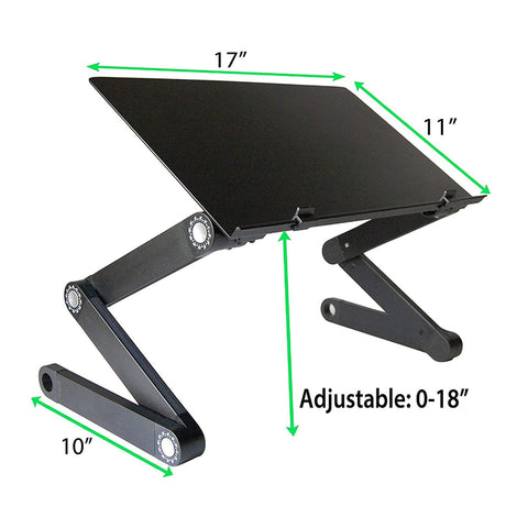 Adjustable Laptop Stand Desk Computing Station