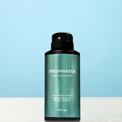 Bath and Body Works Freshwater For Men Deodorizing Body Spray