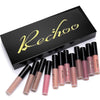 Image of Matte Liquid Lipstick 12 Color Set Waterproof Lip Gloss