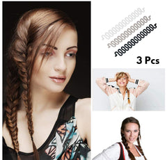 French Pleat Hair Braiding Tool 3-Pcs
