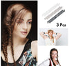Image of French Pleat Hair Braiding Tool 3-Pcs