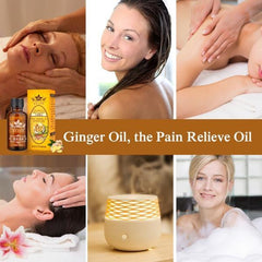 Lymphatic Drainage Ginger Oil 2-Pack