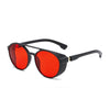 Image of Round Sunglasses Gothic Shades