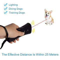 Ultrasonic Dog Chaser Anti Bark Training Device