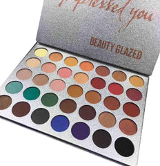 Beauty Glazed Impressed You 35 Color Palette