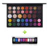 Image of Cosmetics James Charles 39 Colors Eyeshadow Powder Palette x  Its Top Glitter  2Pc Kit