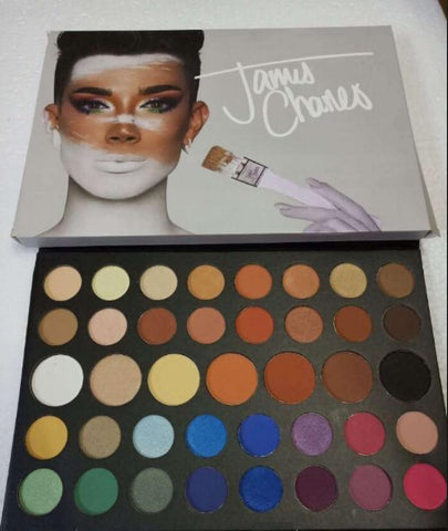 Cosmetics James Charles 39 Colors Eyeshadow Powder Palette