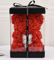 Luxury Rose Teddy Bear