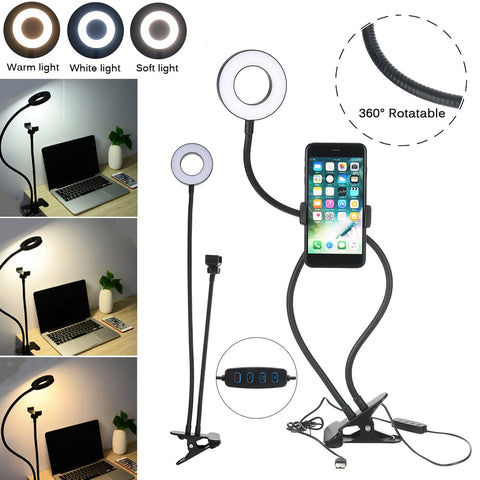 Phone Stand LED Ring Light
