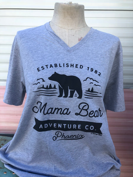 Mama Bear Adventure Co Unisex Tee