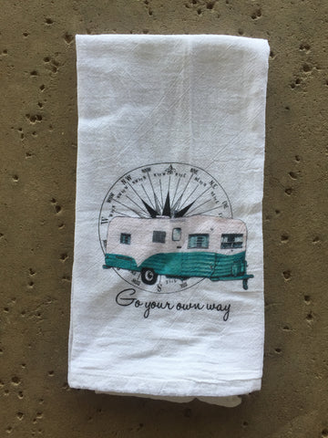Go Your Own Way Tea Towel