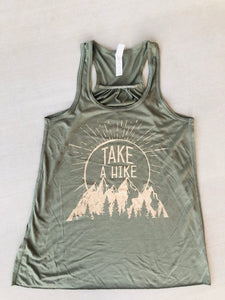 Take A Hike Racerback Tank