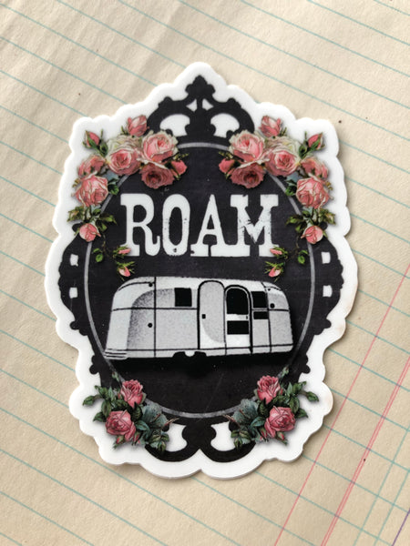 ROAM Die Cut Sticker 4""
