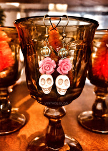 Did de los Muertos  Earrings