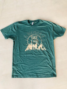 Take A Hike Unisex Crew T-shirt