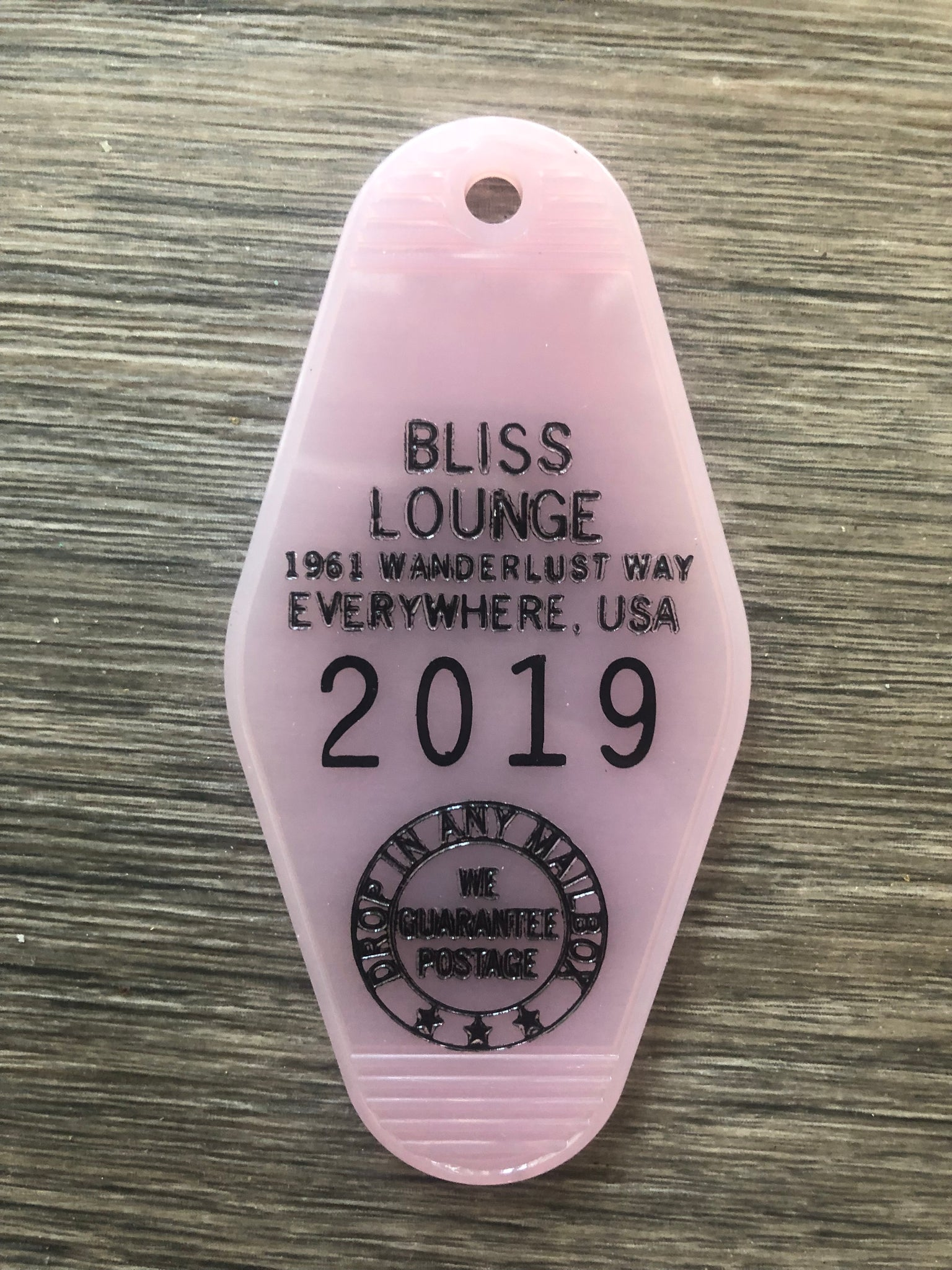 Bliss Lounge Key FOB
