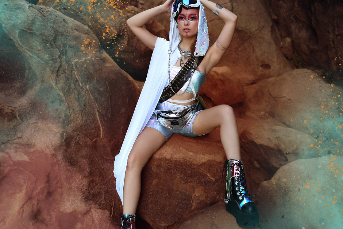 Festival Clothing EDM Fashion - Desert Sun Punk - Burning Man Blog